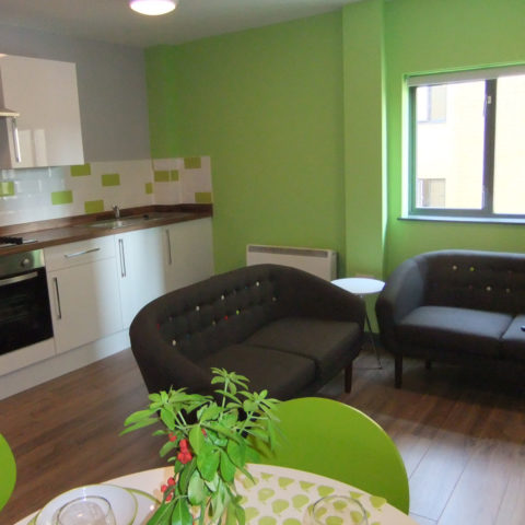 Kingfisher Court Studio Apartment for Students of Leicester DMU