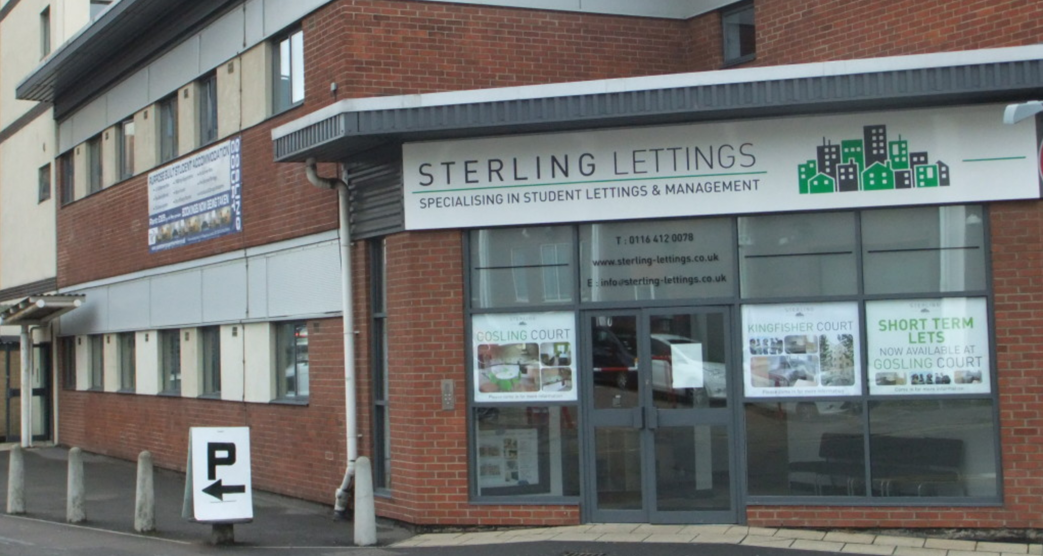 Sterling Lettings Student Apartments on DMU Campus